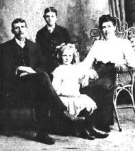 Arthur Bryan family portrait